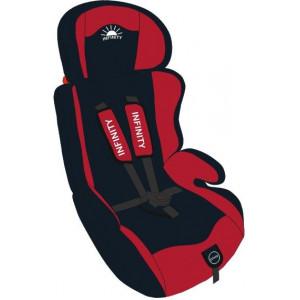 Автокресло Infinity от 9 до 36 кг красно черный