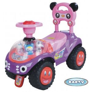 ДЕТСКАЯ КАТАЛКА BARTY BL7602 (фиолетово-розовая)