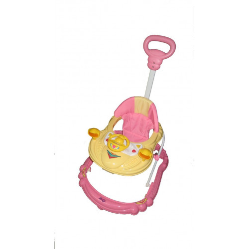 Ходунки BARTY BL313В (ручка управления) розовый