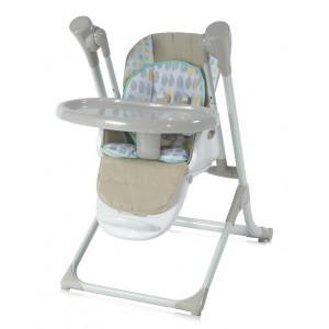 Стульчик для кормления / электрокачели 2в1 Lorelli Ventura Beige 0002