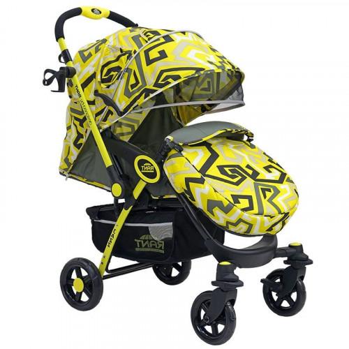 """Коляска детская """"JAZZ"""" Labirint yellow"""