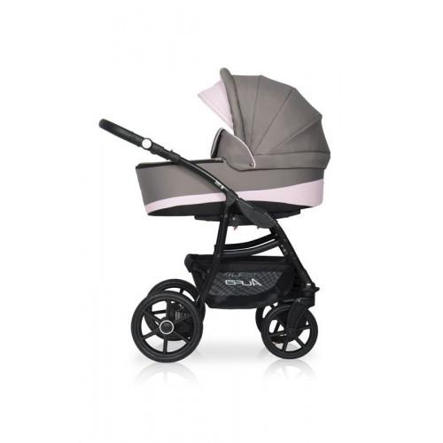 Alfa Ecco 3в1 9 серый-розовый