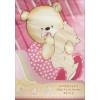 Постельное белье для детей Мишутка 3 предмета розовый