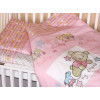 Комплект в кроватку Zoo Bear 7 предметов розовый