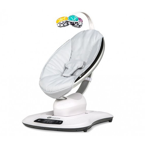 Кресло-качалка МамаРу 4.0 - серебристая