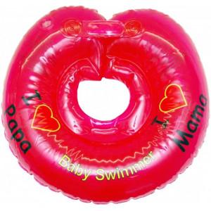 Круг для купания BS12 красный