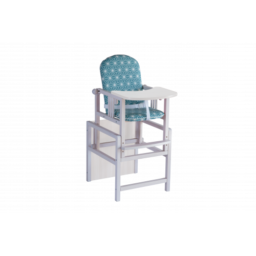 Стол стул трансформер Гном зеленый
