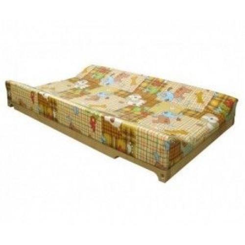 Гном Накладка для пеленания на кроватку бежевый собаки