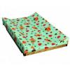 Гном Накладка для пеленания на кроватку зеленый