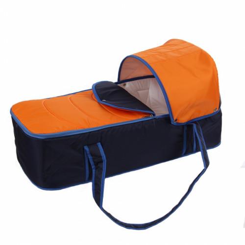 Люлька-переноска для коляски Ярославль оранжевый