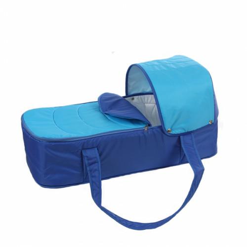 Люлька-переноска для коляски Ярославль синий