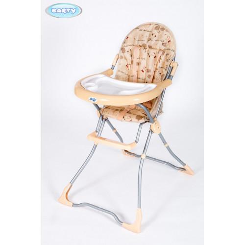 Детский стульчик для кормления Barty-BRIG Бежевый