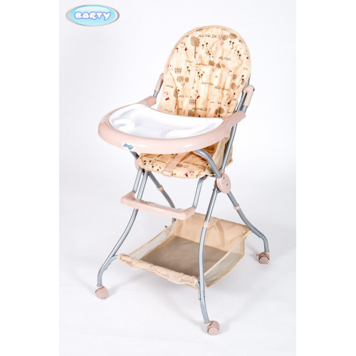 Детский стульчик для кормления Barty-Elevan бежевый