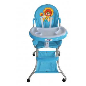 Детский стульчик для кормления Barty-KIDS 8013 голубой