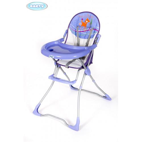 Детский стульчик для кормления Barty-TOMI фиолетовый