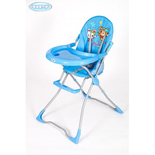 Детский стульчик для кормления Barty-TOMI голубой