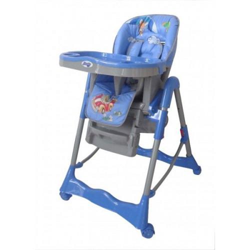 Детский стульчик для кормления Barty GI-7 синий