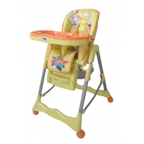 Детский стульчик для кормления Barty GI-7 желтый