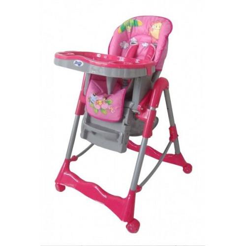 Детский стульчик для кормления Barty GI-7 розовый