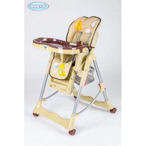 Детский стульчик для кормления Barty GI-7 бежевый