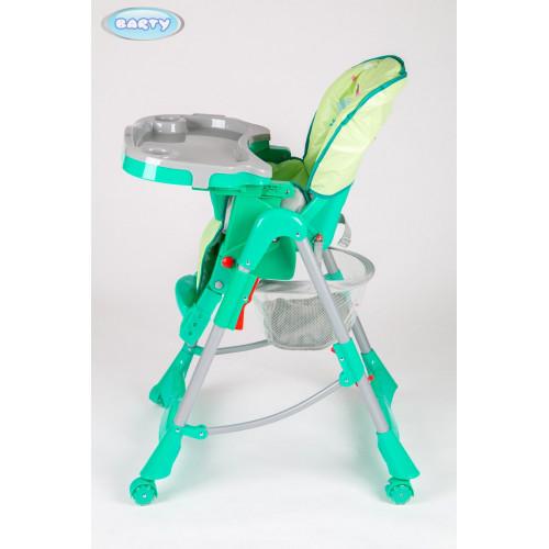 Детский стульчик для кормления Barty GI-7 зеленый