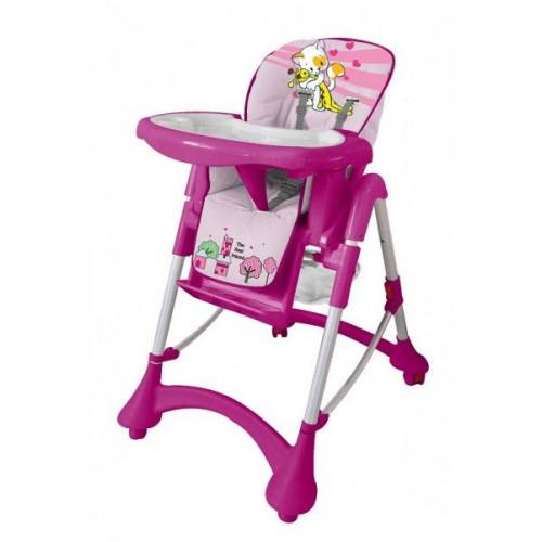 Детский стульчик для кормления Barty GI-9 розовый