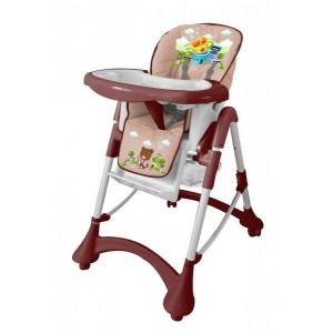 Детский стульчик для кормления Barty GI-9 кофейный