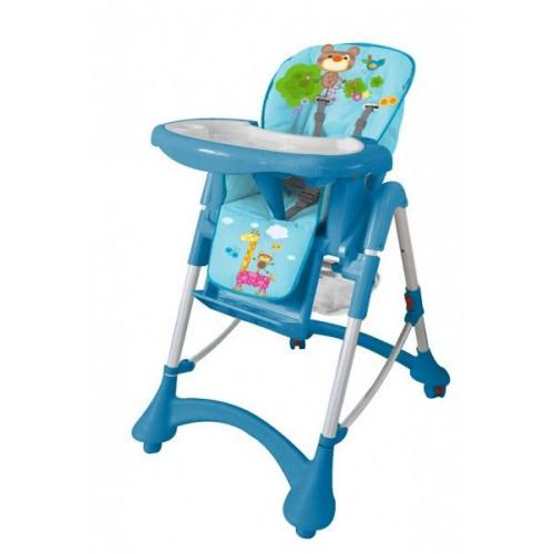 Детский стульчик для кормления Barty GI-9 голубой
