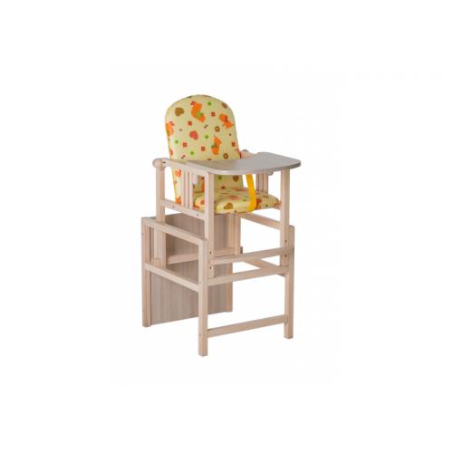 Стол стул трансформер Гном желтый утки